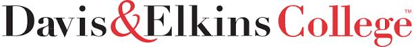 Davis and Elkins College logo